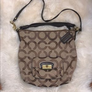 Authentic Coach Hobo crossbody bag